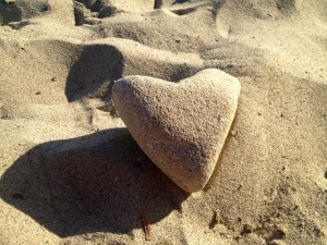 heart of the beach
